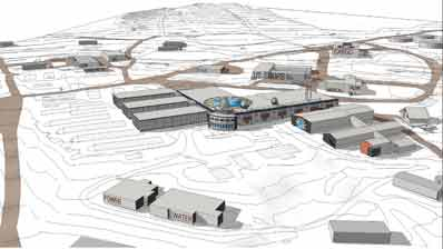 the McMurdo station master plan